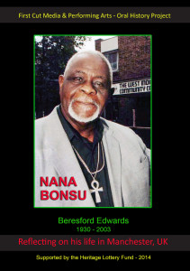 Manchester Black History: Nana Bonsu Booklet - Cover